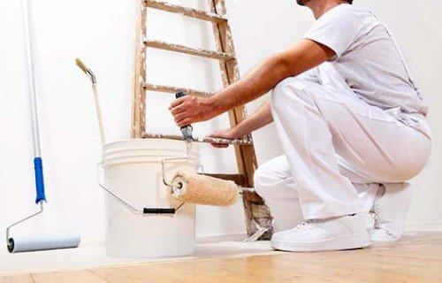 Candi Habitat obras y reformas barcelona pintor pintando paredes