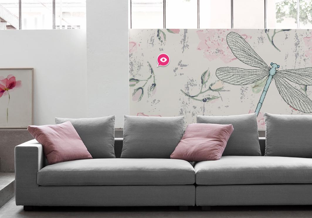 Candi habitat blog nueva tencdencia en la reforma de pisos decorar con acuarelas