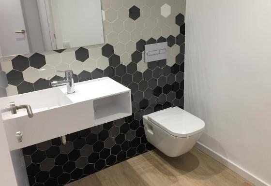 Reforma vivienda en Sarrià, Barcelona: baño
