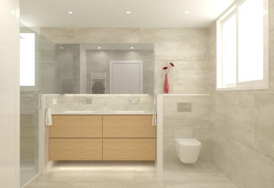 Reforma baños y vestidor casa en Sant Just