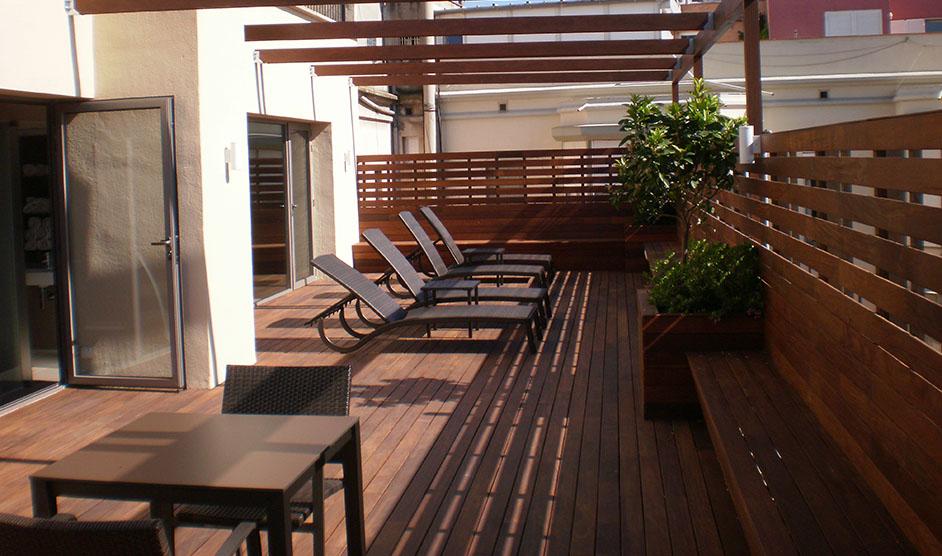 Candihabitat Barcelona reformas de terrazas