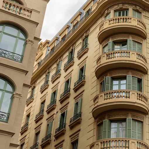 Candi Habitat obras y reformas en Barcelona, rehabilitación de fachadas